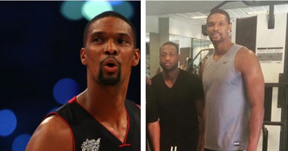 Photo : Chris Bosh plus musclé que jamais ?
