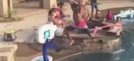 Insolite ! Dunk en famille et en piscine pour Chris Paul