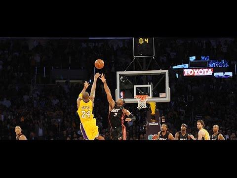 Compilation: les trois points clutchs en carrière de Kobe Bryant