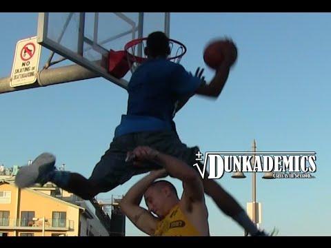 Dunk du jour:Sir Issac dunke par-dessus une personne en Phunkeeducket en mouvement !