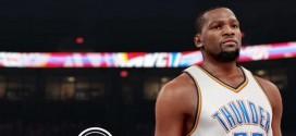 NBA 2K16 : la note de Kevin Durant dévoilée