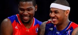 Carmelo Anthony en campagne pour attirer Kevin Durant à New York ?