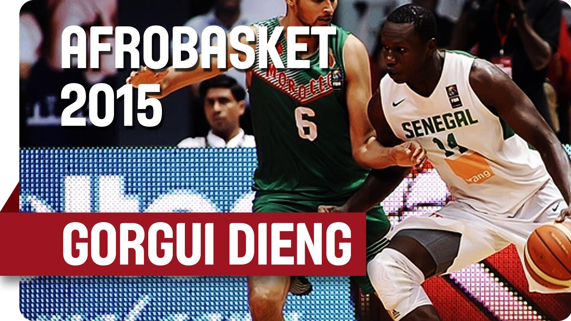 [Highlights] Afrobasket: Gorgui Dieng domine face au Maroc avec 26 points et 15 rebonds