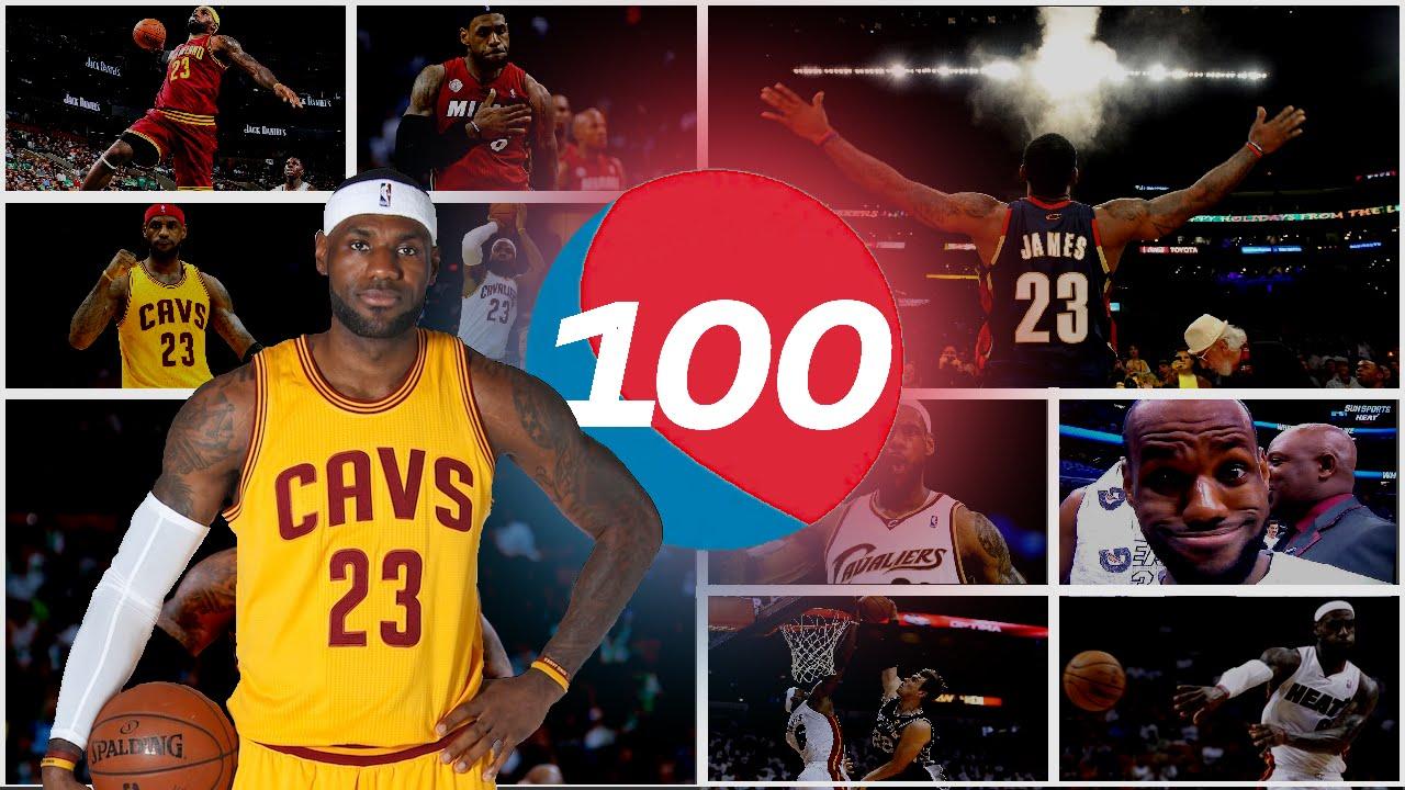 Le superbe Top 100 en carrière de LeBron James