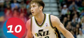 Le top 10 en carrière de Gordon Hayward