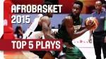 Le Top 5 de la dernière journée de l'Afrobasket