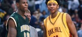 Carmelo Anthony sur LeBron James : « On parlait tout le temps d'aller à l'université ensemble »