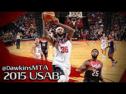 Les highlights de DeMarcus Cousins lors du Showcase de Team USA: 24 points et 11 rebonds