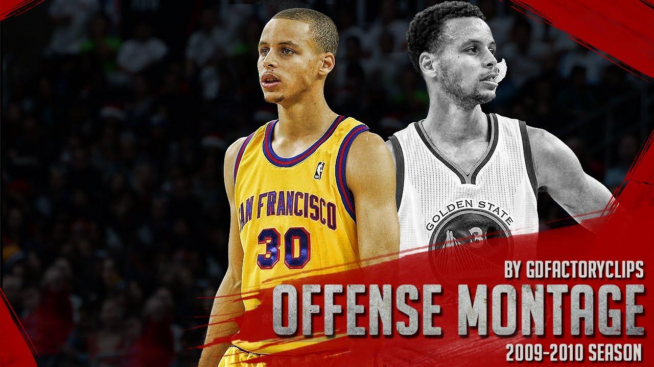 Les highlights offensifs de Stephen Curry lors de sa saison rookie