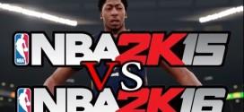 Les premières comparaisons graphiques entre NBA 2K15 et NBA 2K16