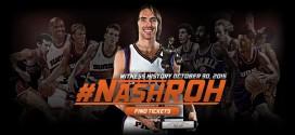 Steve Nash va entrer au Ring of Honor des Suns