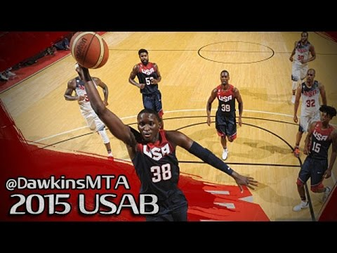 Team USA Showcase: les highlights de Victor Oladipo (25 pts) et Andre Drummond (27 pts)