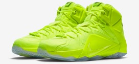 Kicks: les Nike LeBron 12 EXT «Tennis Ball»