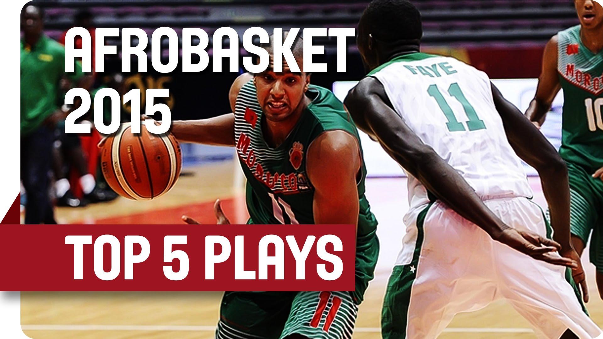 Top 5 Afrobasket:Abdelhakim Zouita fait plier le panneau