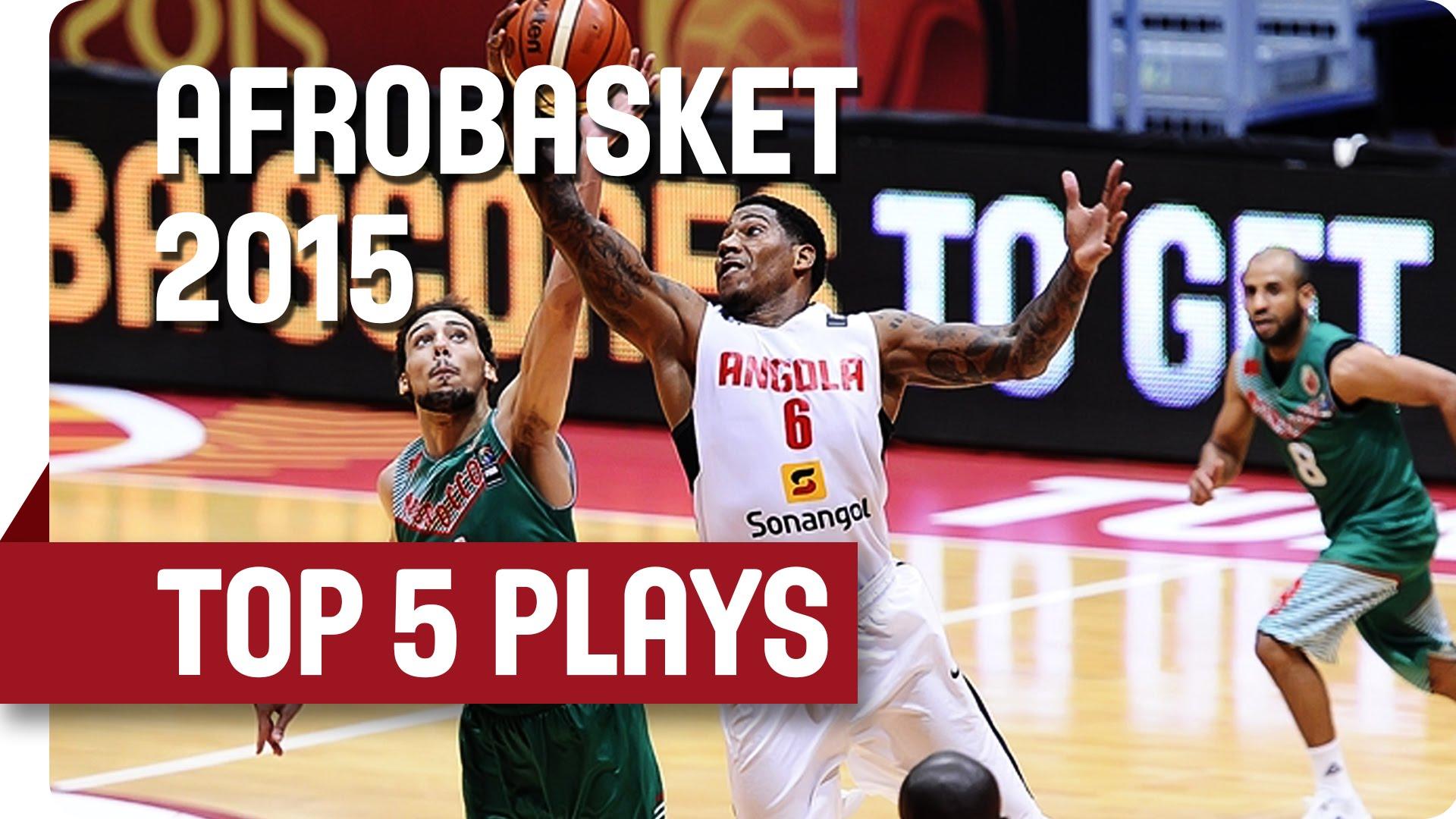 Top 5 Afrobasket: l'Angola et le Cap Vert font le show