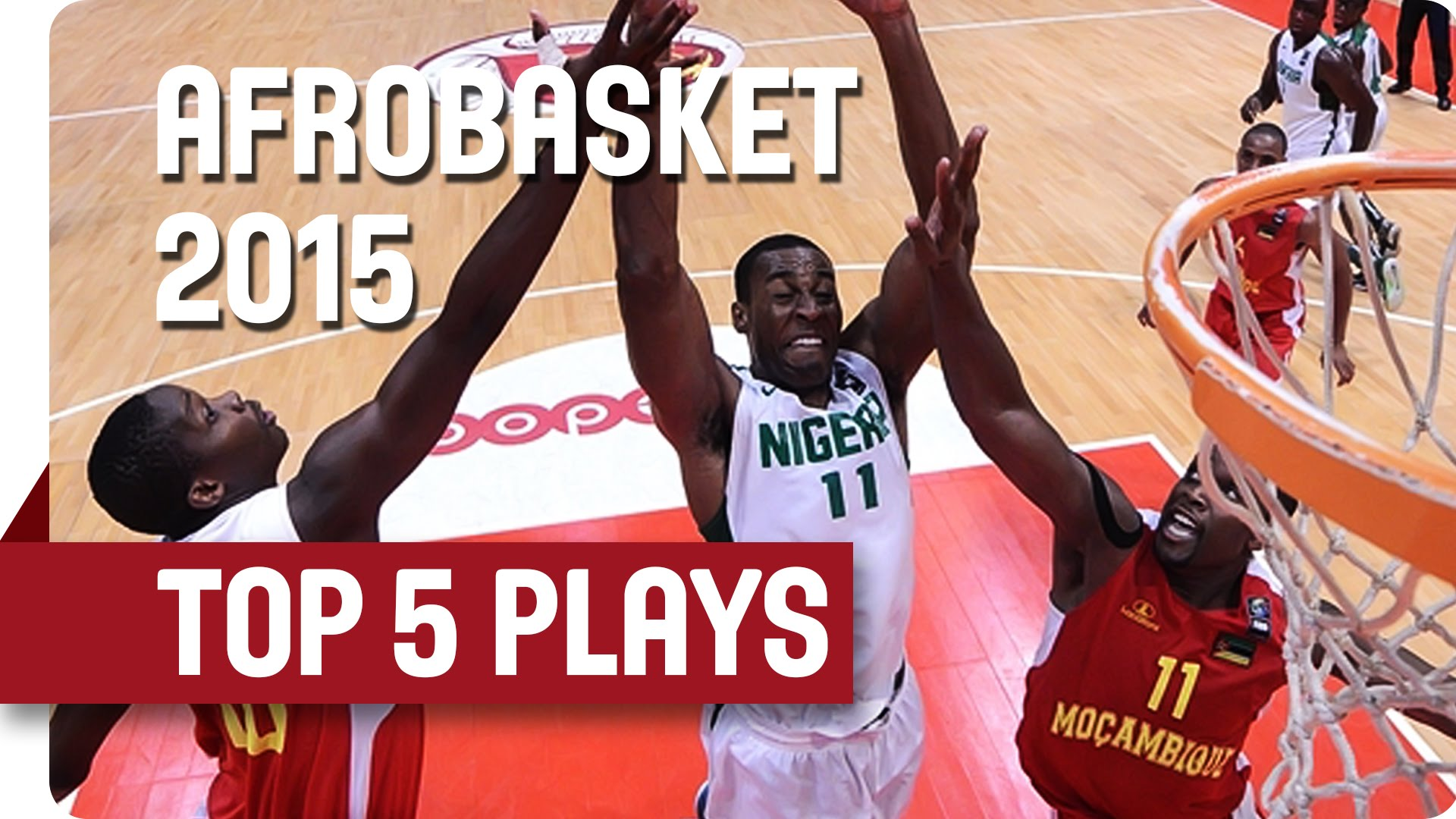 Top 5 Afrobasket : l'énorme claquette d'Andy Ogide (Nigeria)