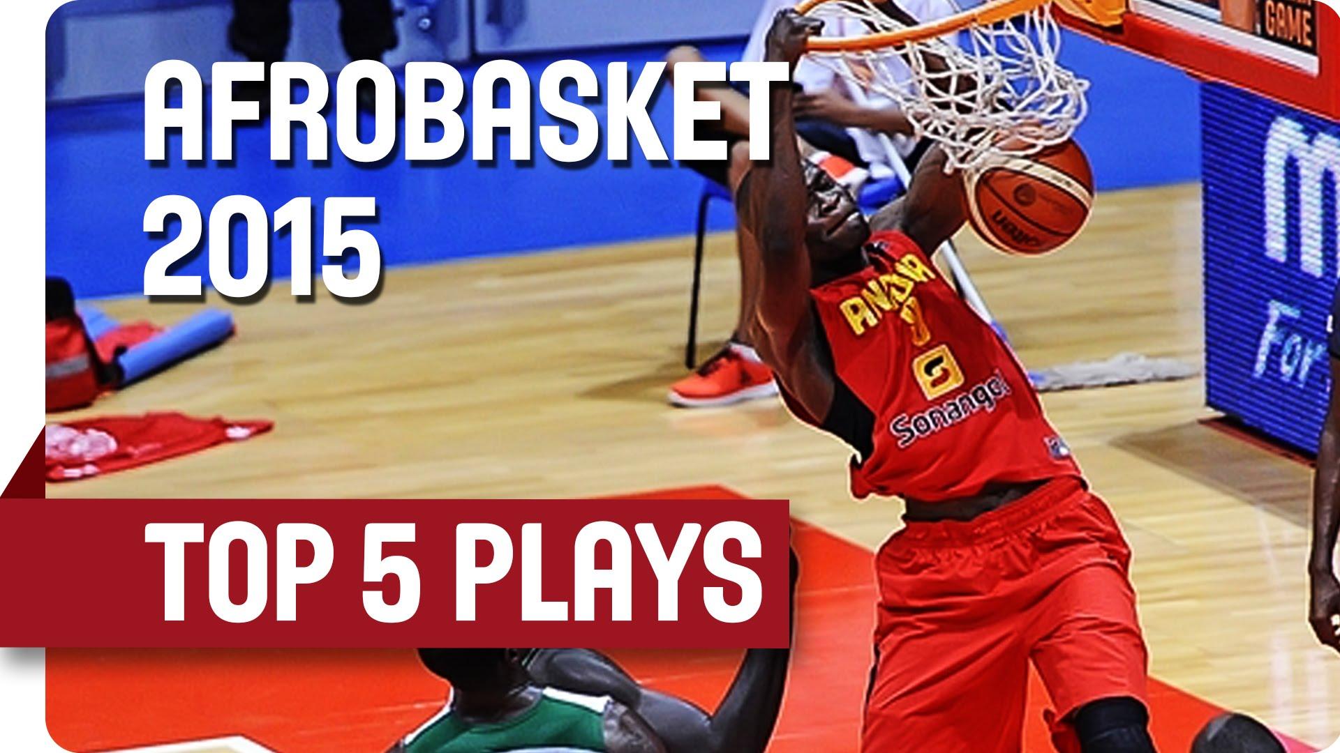 Top 5 Afrobasket : tomars en pagaille et buzzer beater