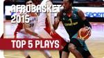 Top Afrobasket : Al-Farouq Aminu et Jeremy Nzeulie à l'œuvre