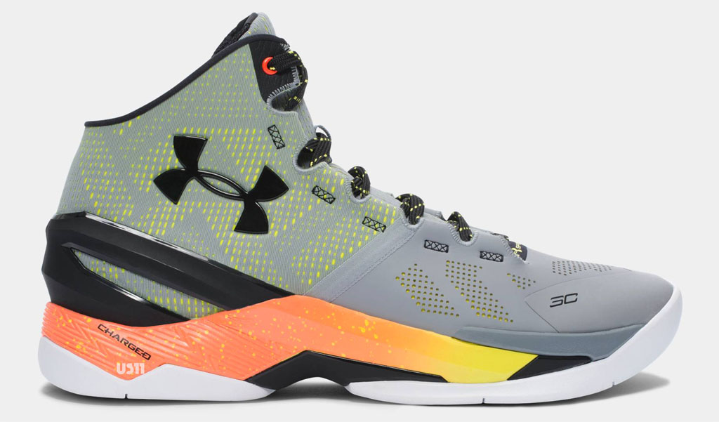 Under Armour Curry 2 Grey