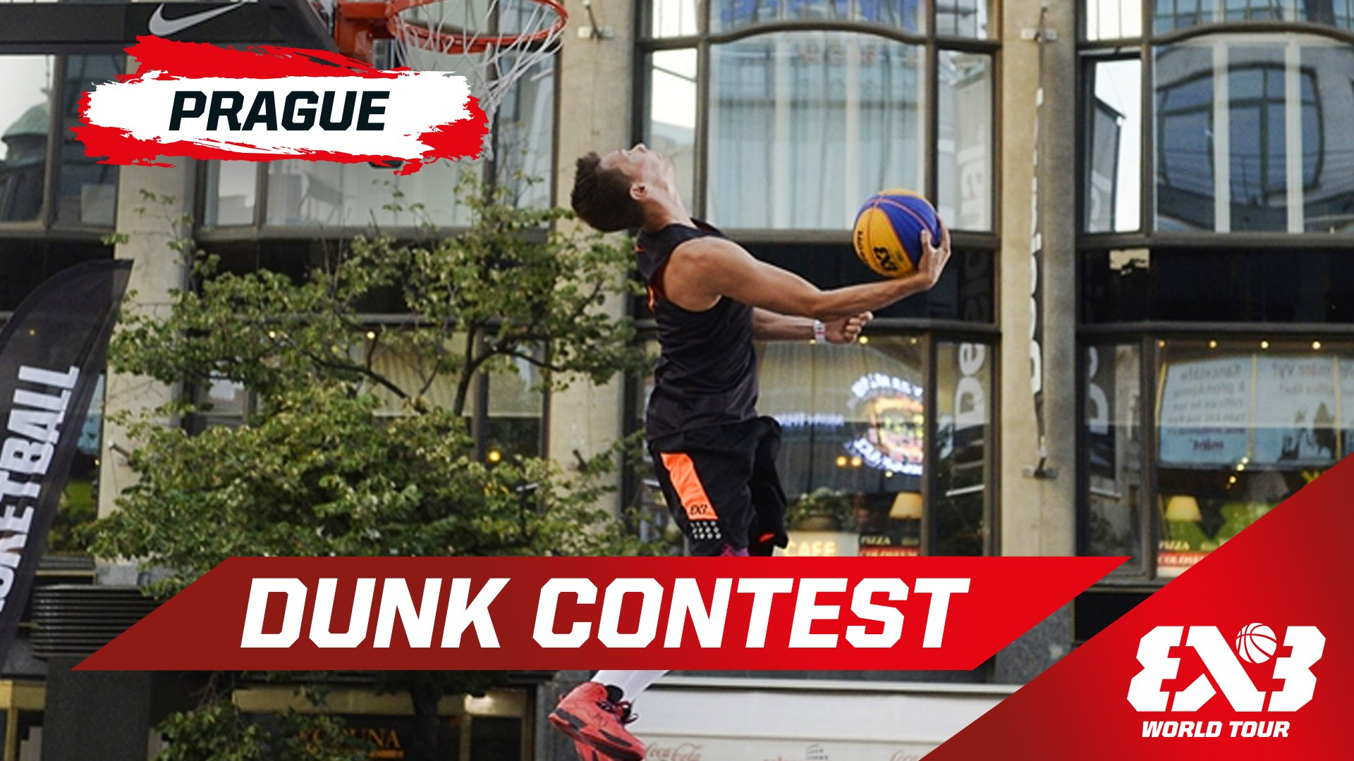 Vidéo : le Dunk Contest du FIBA 3×3 World Tour – Prague