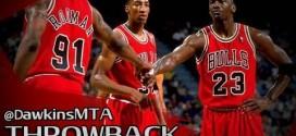 Vintage: le jour où Michael Jordan et Scottie Pippen ont marqué 44 et 40 points dans le même match
