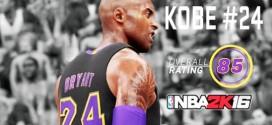 Brandon Jennings sur la note NBA 2K16 de Kobe Bryant : « Un blasphème »
