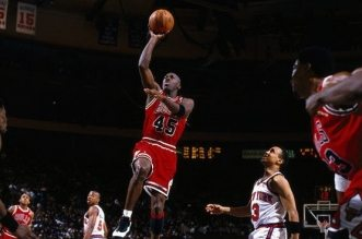 Michael Jordan 55 points