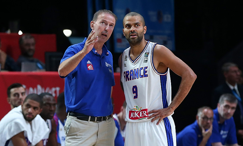 Tony PArker et vincent Collet