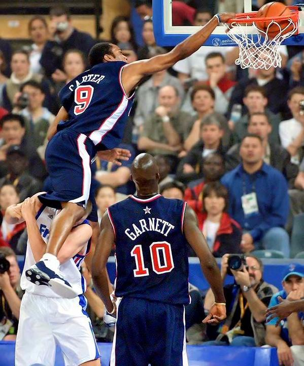 Vince Carter et Fred Weis