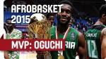 Afrobasket: les highlights de Chamberlain Oguchi, MVP de la compétition