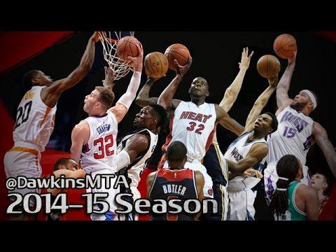 Compilation: les meilleurs posters de la saison NBA 2014-15