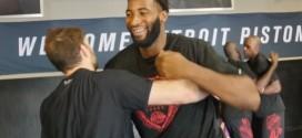 Vidéo : l'intense entraînement des Pistons avec des combattants UFC