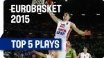 [Euro] Top 5: Mario Hezonja au dunk, Rudy Fernandez à la passe