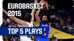 [Eurobasket] Top 5: contres, dunk, passe et shoot au buzzer