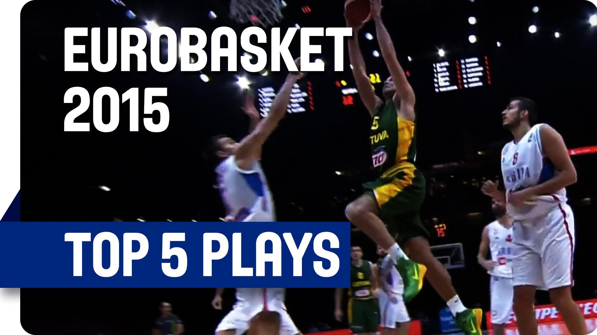 [Eurobasket] Top 5: la République tchèque fait le spectacle