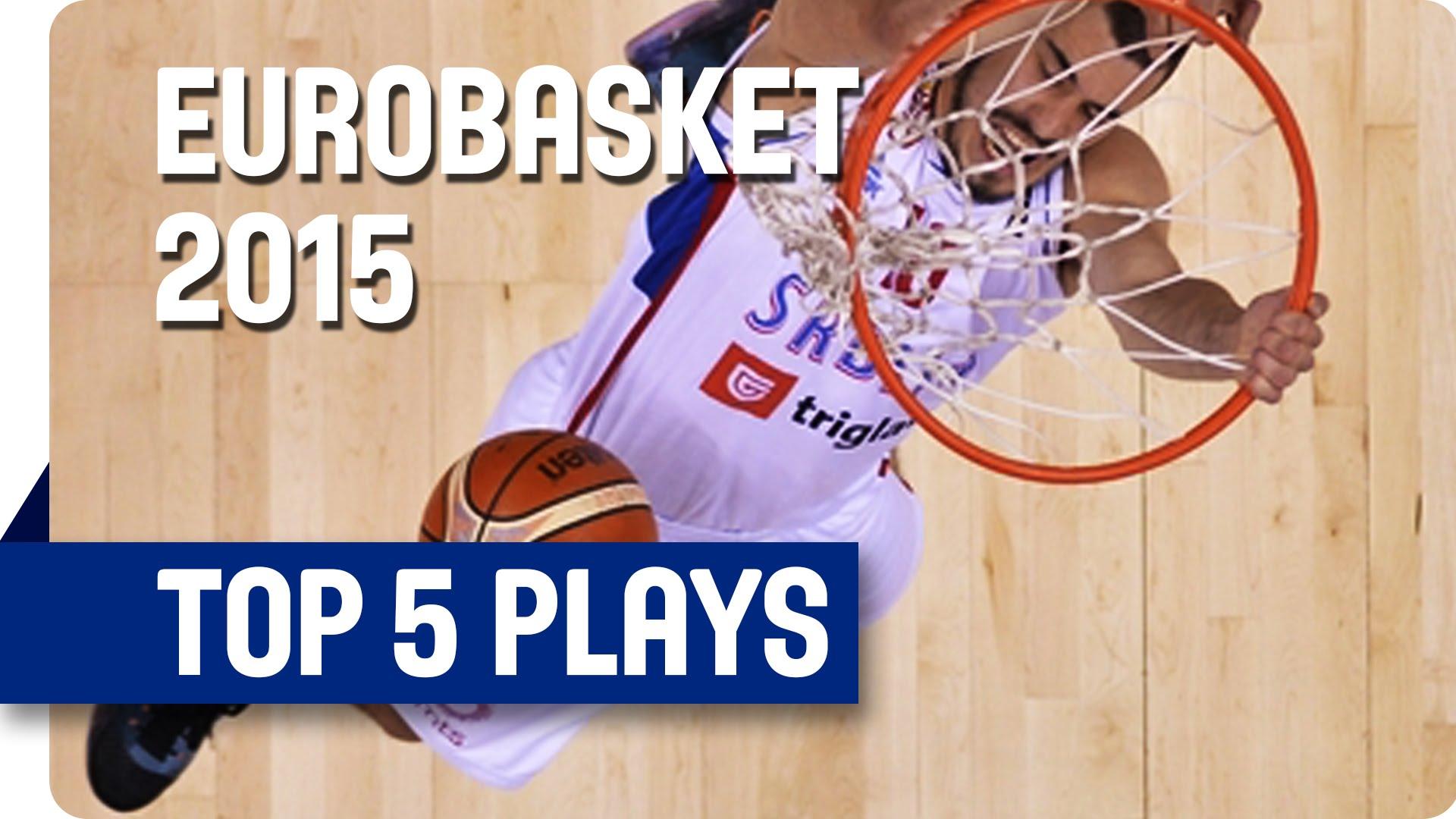 [Eurobasket] Top 5: la Serbie fait le show