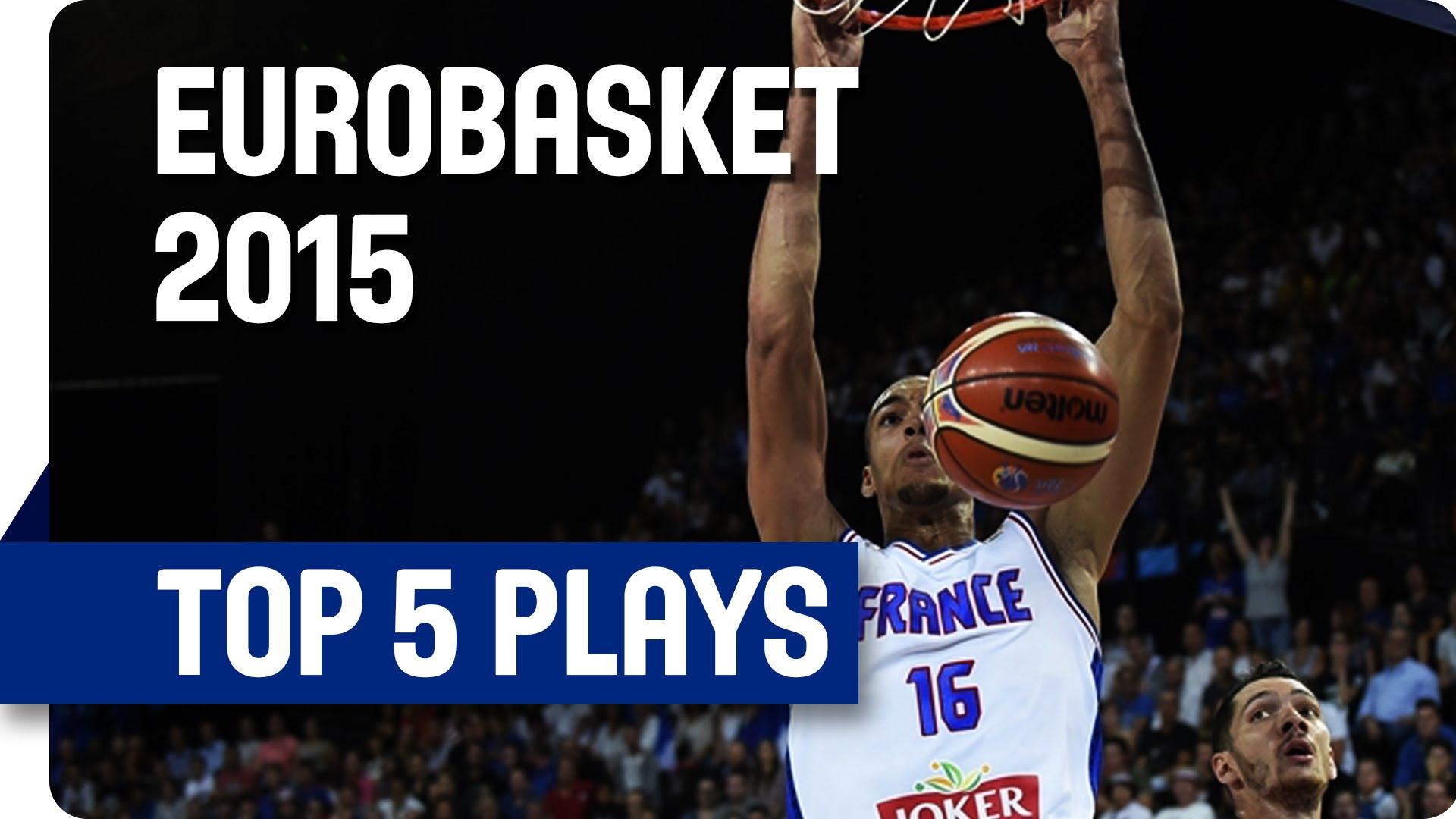 [Eurobasket] Top 5: les Français squattent le podium