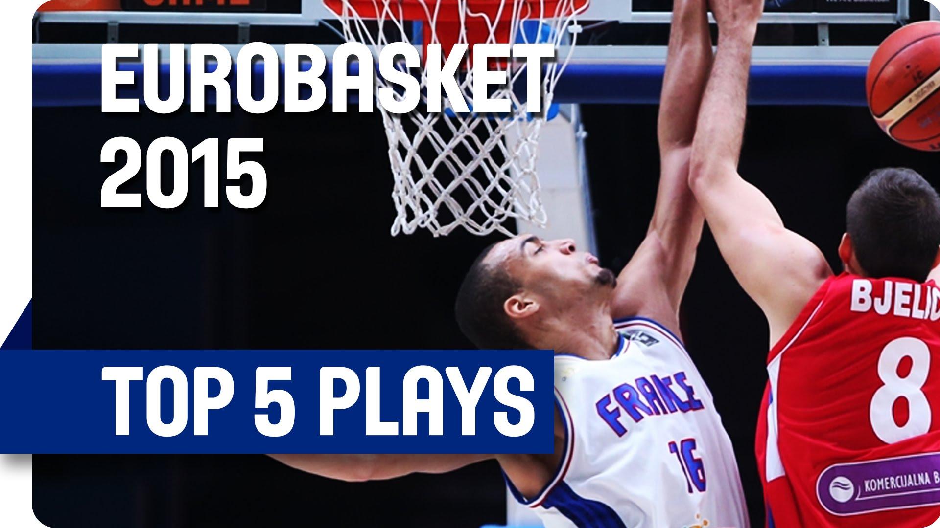 [Eurobasket] Top 5: triplé français