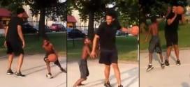 Jabari Parker sans pitié pour les jeunes d'un playground de Chicago