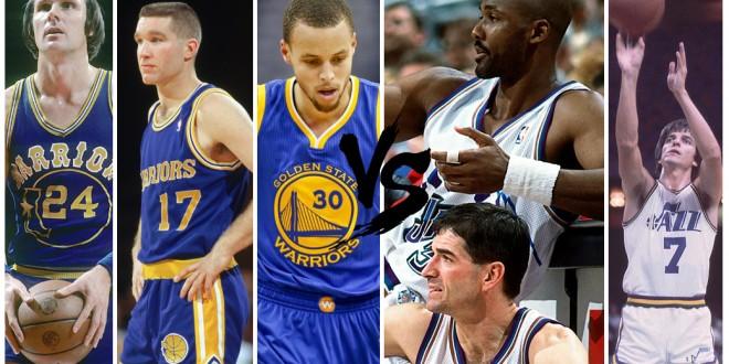 Playoffs des légendes, 1st round – choisissez entre Warriors et Jazz
