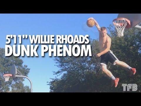Le dunkeur du jour: Willie Rhoads, 1m80