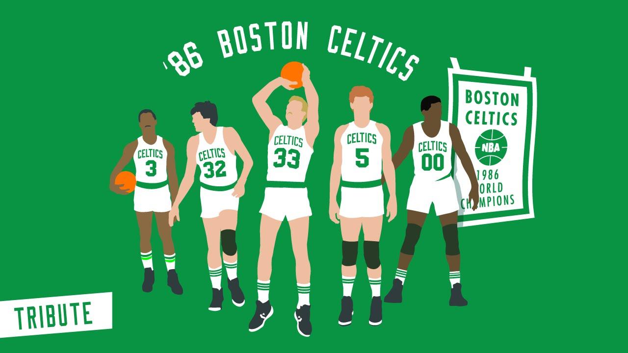 Le magnifique mix du jour: 1986 Boston Celtics Tribute – The Beautiful Game