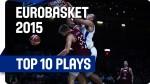 Le top 10 de l'EuroBasket 2015