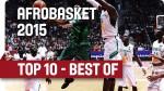 Les 10 meilleures actions de l'Afrobasket