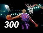 Les 300 meilleurs dunks de Vince Carter en NBA