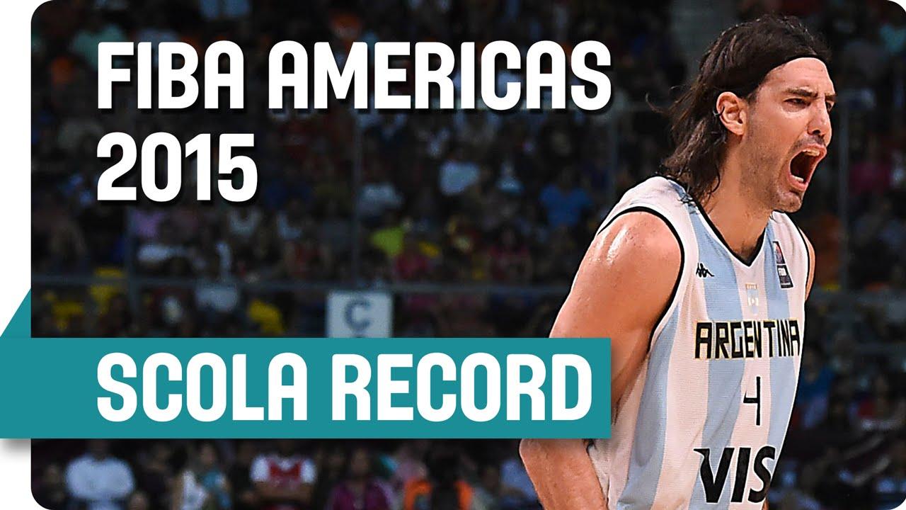 Luis Scola dépasse une légende pour devenir meilleur marqueur de l'histoire du championnat des Amériques