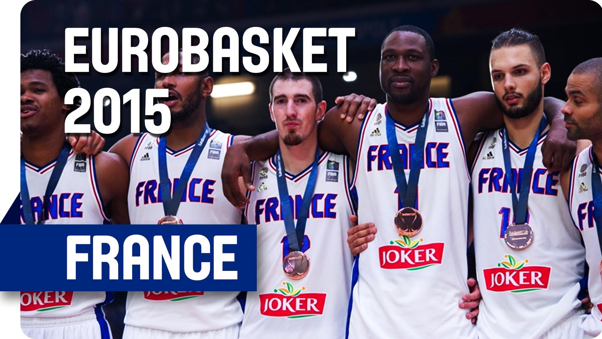 Mix: le meilleur de l'équipe de France lors de l'Eurobasket