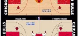 Un nouveau parquet pour les Chicago Bulls