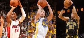 Pour un shoot à trois points décisif, Stephen Curry choisit Ray Allen plutôt que Reggie Miller