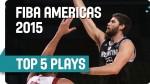 Top 5 FIBA Americas: l'Argentine fait le show